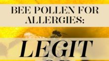 Does Bee Pollen Help With Allergies?