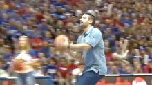 Student Wins $10K for Half-Court Shot, Plans to Give to Grandma Who Adopted Her