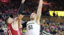 Now Michigan basketball's most experienced center, Austin Davis steps into the spotlight