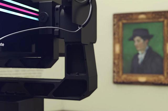 Google's gigapixel Art Camera captures the subtle details