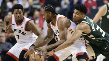 Gobert, George y Giannis encabezan Equipo Defensivo de NBA