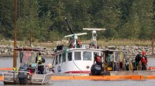 Efforts to raise tug from mouth of B.C.'s Fraser River paused until Thursday