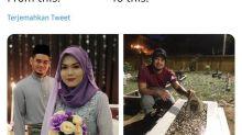 Bukti Cinta Sejati, Pria Ini Kunjungi Makam Istrinya Tiap Hari