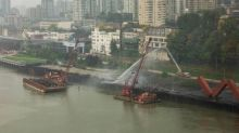 Fire at New Westminster pier finally extinguished