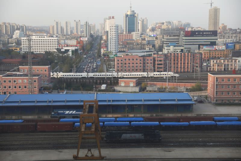 sg.news.yahoo.com: China, North Korea poised to resume freight rail links as trade revives