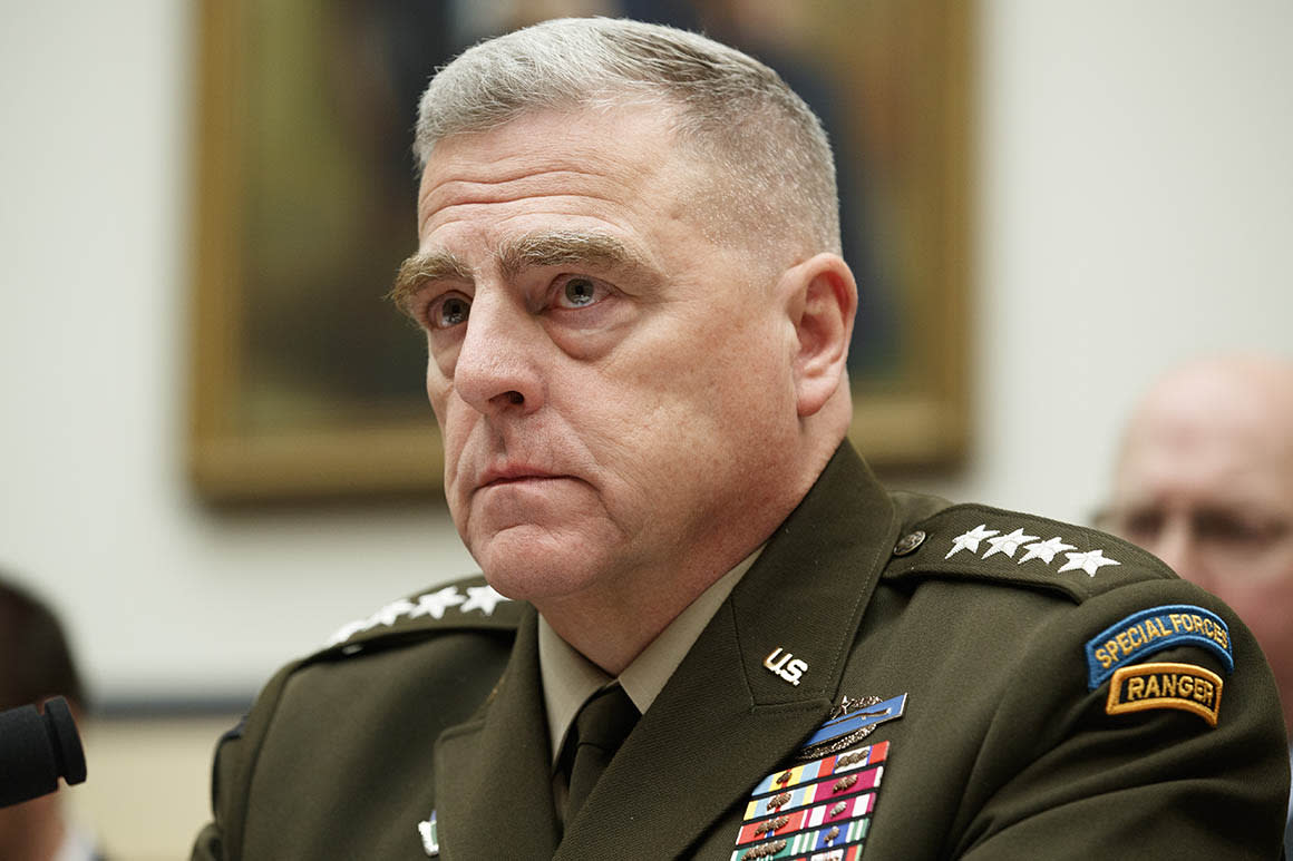 Top general: Military won't be a 'raping, burning and pillaging' gang after Trump's war crimes pardons