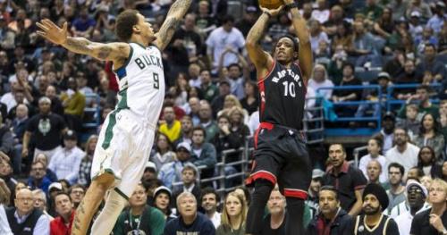 Basket - NBA - Avec un grand DeMar DeRozan, Toronto égalise à Milwaukee