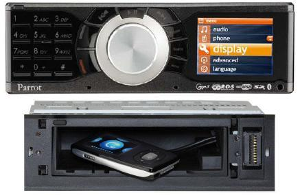 Parrot's new RK8200 car stereo plays nice with everything