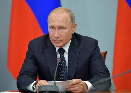 Image result for Russia's Putin to give TV address on pension reform on Wednesday