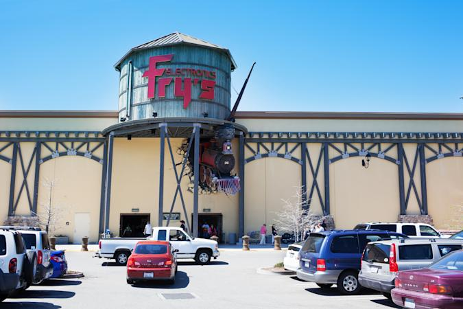 Frys Electronics in Roseville