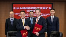 Ivanhoe Mines Completes Strategic Equity Investment of C$612 Million (US$459 million) from China-Based CITIC Metal