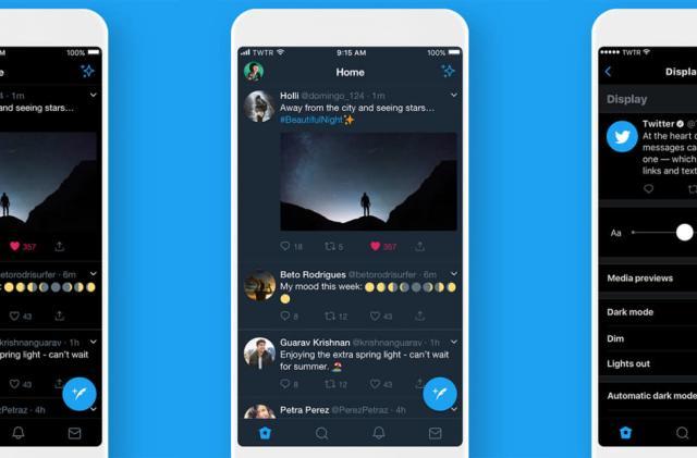 Twitter adds a true dark mode to its iOS app