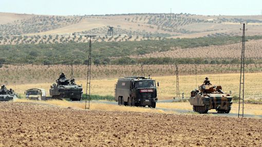 The Latest: Turkey-backed Syria rebels take 10 more villages