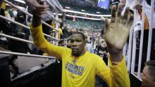 Kevin Durant: If fans find blowout-heavy playoffs boring, 'don't watch it'