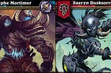 Death Knight class arrives in the TCG