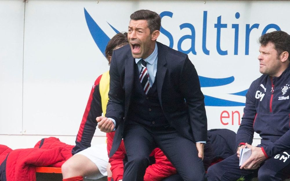 Pedro Caixinha has been arriving at the training ground at first light in preparation - PA