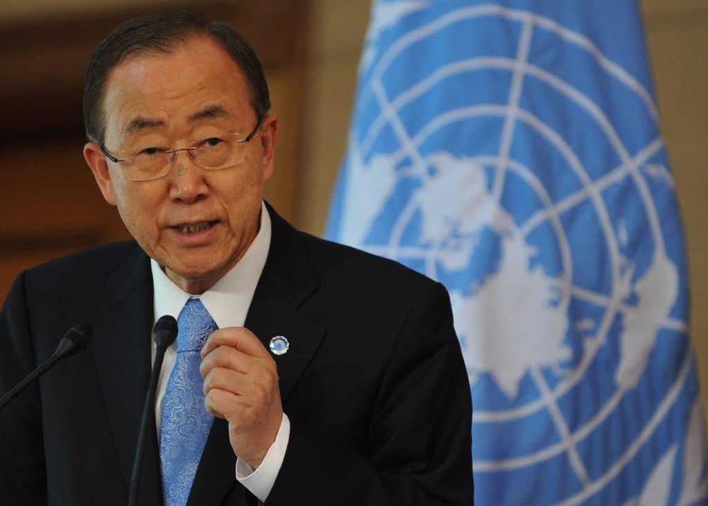 United Nations Secretary-General Ban Ki-moon has sacked the UN's C.Africa mission chief (AFP Photo/Vyacheslav Oseledko)