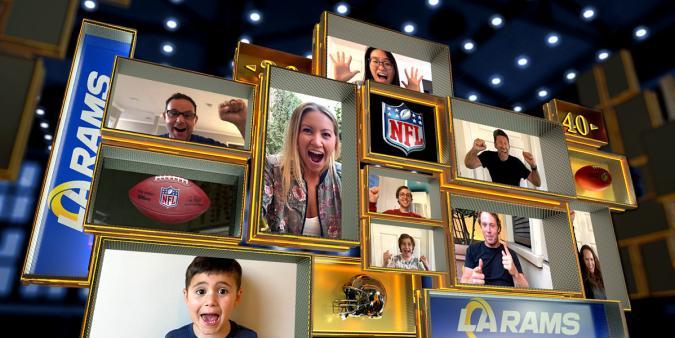 NFL Fan Mosaic
