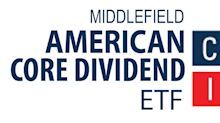 Middlefield American Core Dividend ETF Distributions