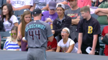 Young fan has best reaction to Paul Goldschmidt signing her baseball