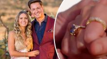 Matt Agnew's $30k custom-made Bachelor finale ring