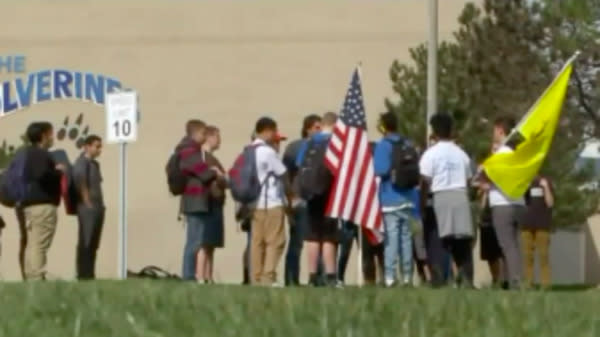 Students Nationwide Walk Out Of Schools To Show Support For Second Amendment Rights