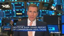 Deutsche Bank denies report of Commerzbank deal talks