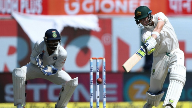 Smith, Warner dominate India in fourth Test