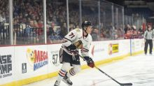Red Wings' pick Cross Hanas aims to join select list of Texans in NHL
