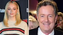 Sophie Turner calls Piers Morgan a 't**t' over mental health claims