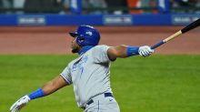 Royals snap seven-game losing skid, beat Indians 8-6