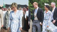 11 Times Meghan Markle Dressed Like Princess Diana