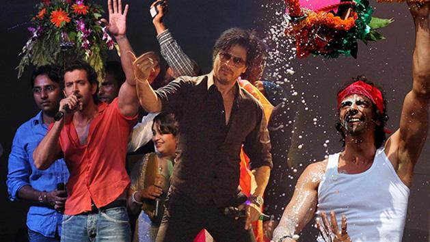 Shahrukh Hrithik And Arjun Break Dahi Handi
