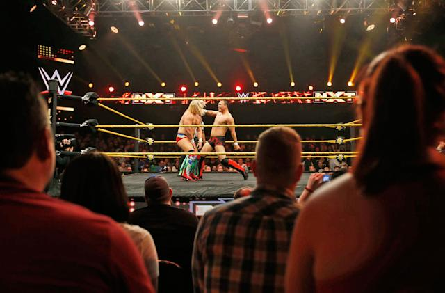 Watch WWE highlights from ringside with NextVR's wrestling channel