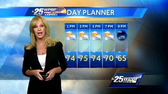 Monday Afternoon First Alert Forecast: March 25