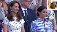 Serena Williams' Emotional Loss at Wimbledon Moves Meghan & Kate: 'I Was Playing' for Moms