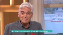 'This Morning's' Phillip Schofield makes cheeky innuendo during penis fillers segment