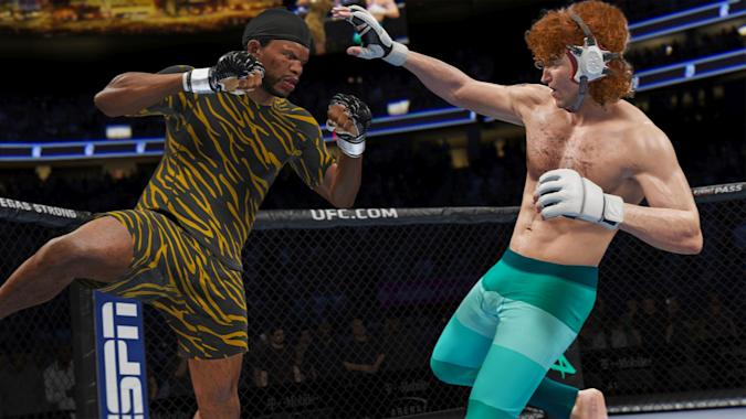 EA's 'UFC 4'