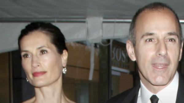 Matt Lauer's Wife Annette Officially Files for Divorce After 20