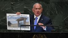 Israel PM lashes Iran, claims secret atomic warehouse