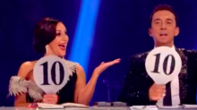 """Strictly fans: Shirley & Bruno only have """"10"""" paddles"""