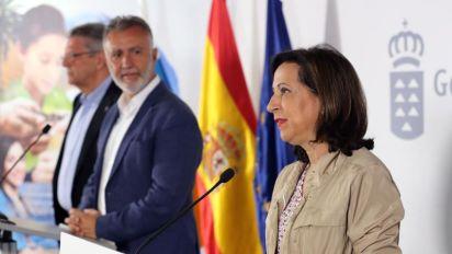 El jefe de UME habla con Robles y Casado sobre fuegos de Ávila y Gran Canaria