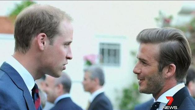 Beckham predicts royal baby name