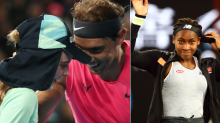 Nadal Kisses Hurt Ballkid, Coco Wants Selfie With Rod Laver: Off-beat from Australian Open