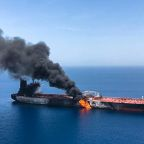 US military claims Iran tried to 'shoot down drone' that was observing attacks on oil tankers