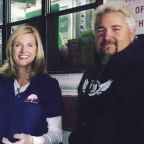 Guy Fieri Brings Comfort Food To Firefighters And First Responders