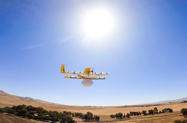 Alphabet's Wing drones will soon deliver FedEx and Walgreens packages
