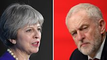 Shock polls reveals lead for chaotic Tories over Jeremy Corbyn's Labour