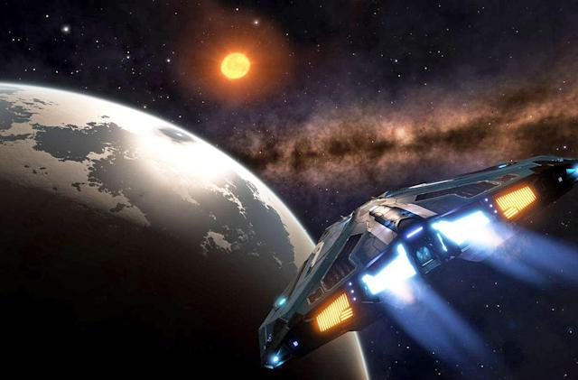Visit NASA's newly discovered planets in 'Elite: Dangerous'