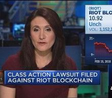 Class action lawsuit filed against Riot Blockchain
